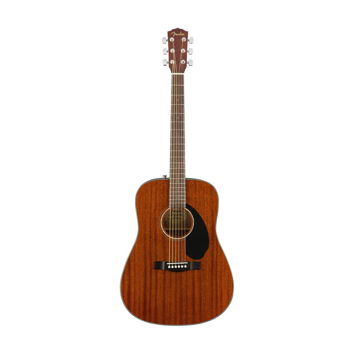 Fender CD-60S Dreadnought Acoustic Guitar, All Mahogany