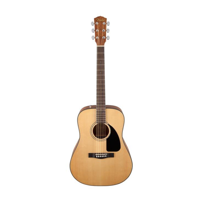 Fender CD-60 Dreadnought V3 Acoustic Guitar w/case, Walnut FB, Natural