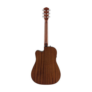 Fender CD-60SCE Dreadnought Acoustic Guitar, Walnut FB, Natural