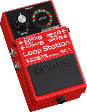 BOSS RC-1 LOOP STATION | Zoso Music