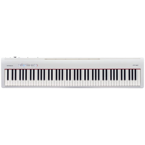 ROLAND FP30WH 88-KEYS DIGITAL PIANO (HEAD ONLY) | Zoso Music