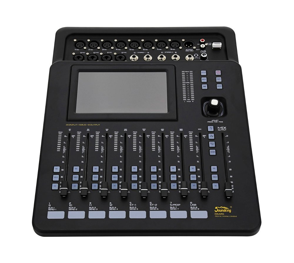 SOUNDKING DM-20 DIGITAL MIXER 20 CHANNEL | Zoso Music