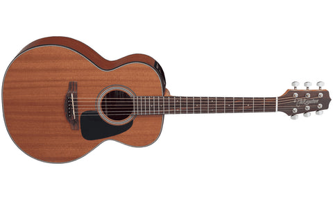 TAKAMINE GX11ME-NS NON-CUTAWAY ACOUSTIC GUITAR, NATURAL SATIN. | Zoso Music