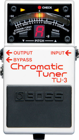 BOSS TU-3 CHROMATIC TUNER | Zoso Music