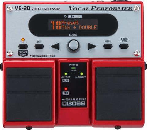 BOSS VE-20 VOCAL PERFORMER | Zoso Music
