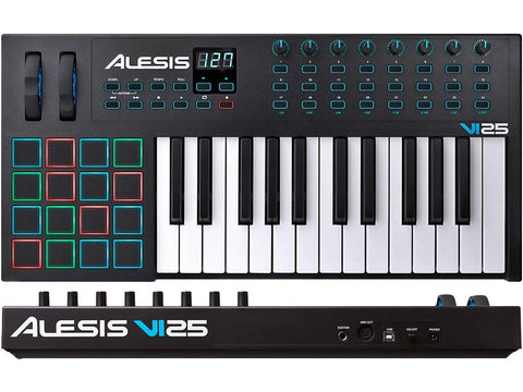 ALESIS VI25 Advanced 25-Key USB/MIDI Keyboard Controller | Zoso Music