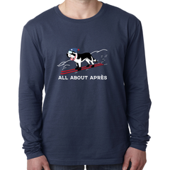 Apres Goes Full Send LS Tee, All About Apres