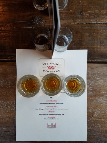 Wyoming Whiskey apres ski drinks