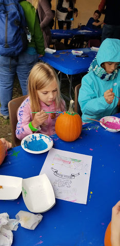 Pumpkin Painting Mount Snow Oktoberfest