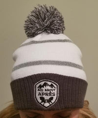 All About Apres Hit the Bar Pom Pom Beanie