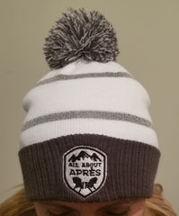 Hit the Bar Pom Pom Beanie