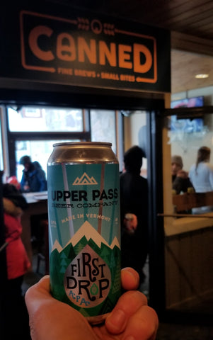 Upper Pass Beer Company First Drop APA
