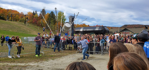Keg Tossing Mount Snow Oktoberfest