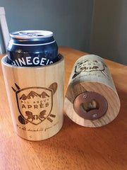 All About Apres The Woodster Coozie