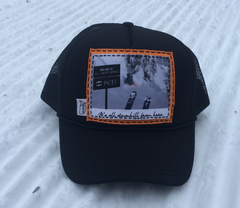 All About Apres Allie Caps Collab Trucker Hat