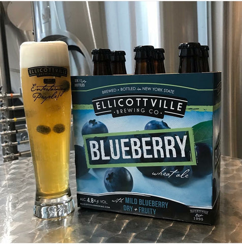 Ellicottville Brewing Blueberry Wheat Ale