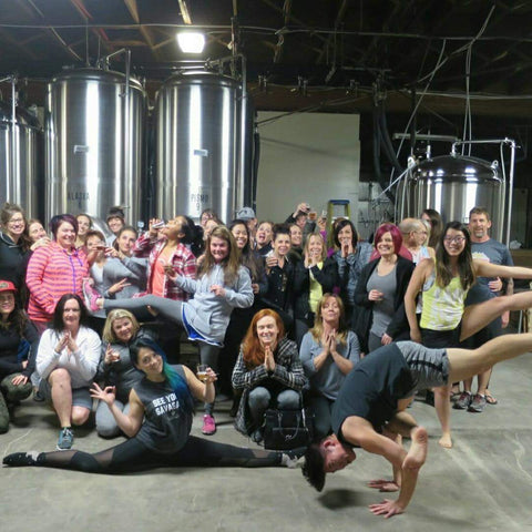 Talisman Brewing Beer Yoga