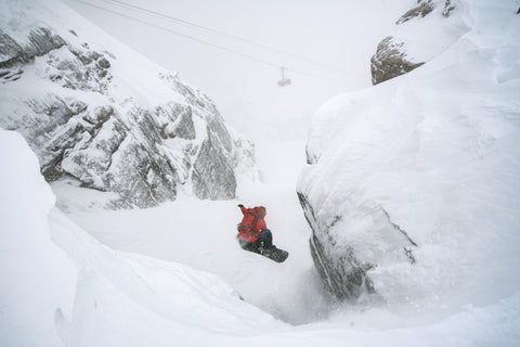 Warren Miller Line of Descent, Jackson Hole, Rob Kingwill