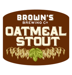 Brown's Brewing Oatmeal Stout