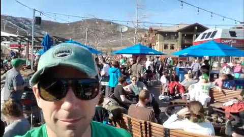 Canyons Village Umbrella Bar, Park City Utah