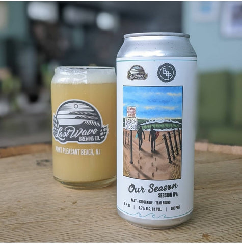Last Wave Brewing Our Season