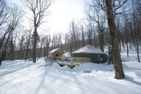 Ledgewood Yurt, Killington Resort