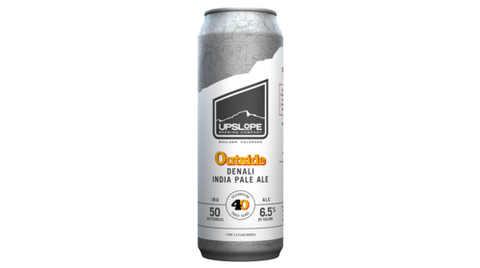 Upslope Brewing Outside Magazine 40th Anniversary Beer