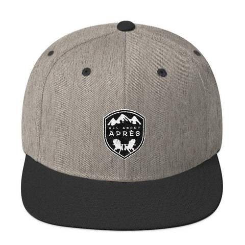 All About Apres Signature Snapback