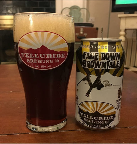 Telluride Brewing Face Down Brown