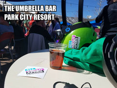 Umbrella Bar Park City Resort, The Canyons Village