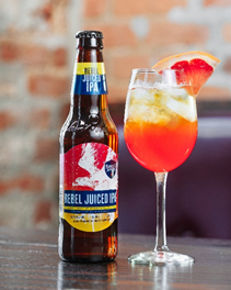 Sam Adams Rebel Juiced IPA, Sam Adams brewing, apres ski beers