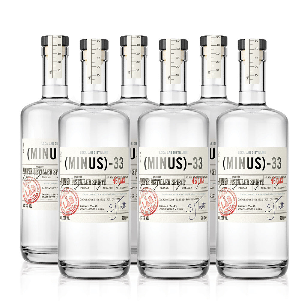Six Bottle Case of Minus 33