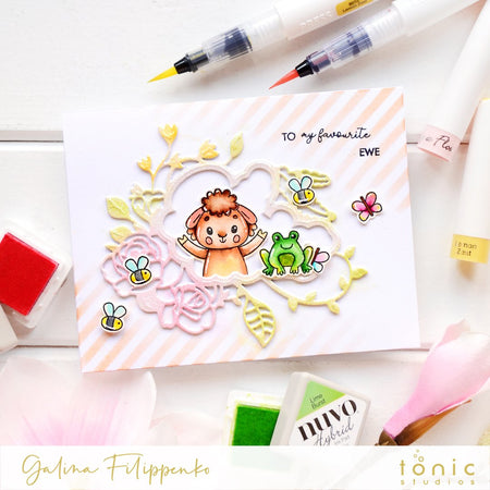 Celebrate Friendship Stamp set with Galina