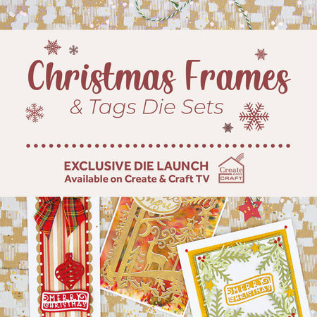 Christmas Frames & Tags - Launch Details