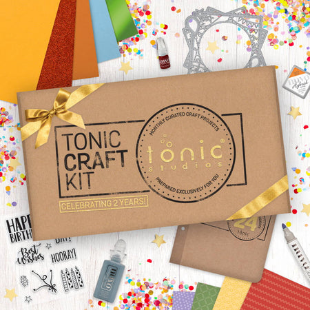 Tonic Craft Kit 24 - Celebration Easel - Inspiration