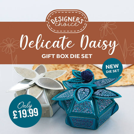 Designer's Choice 15 - Delicate Daisy Gift Box Die Set