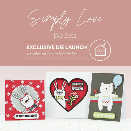 Bunny & Bear Die Sets - Launch Details