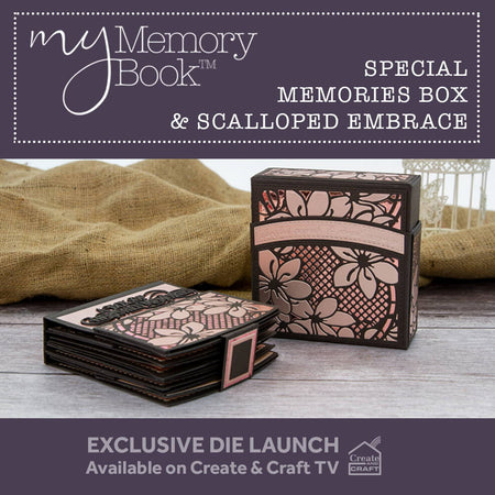 My Memory Book - Special Memories Box & Scalloped Embrace