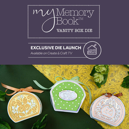 My Memory Book Vanity Box  Collection - Launch Details