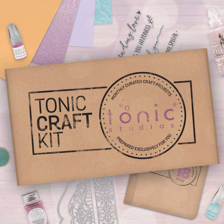 Tonic Craft Kit 18 - Dream In Colour - Inspiration