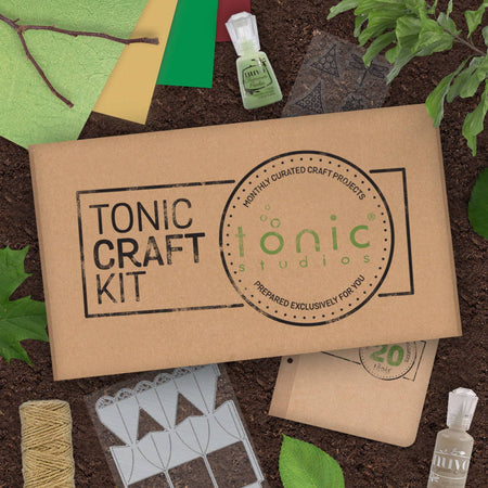 Tonic Craft Kit 20 - Woodland Walk - Inspiration