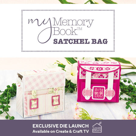 Memory Book Satchel Bag Die Set - Launch Details