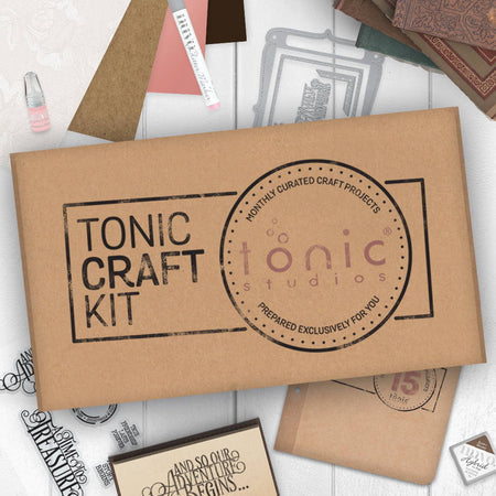 Tonic Craft Kit 15 - Memento Book Maker - Inspiration