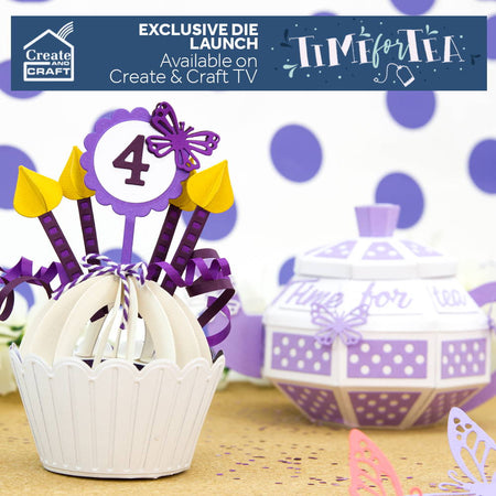 Time For Tea & Cute Cupcakes Die Sets - Launch Details