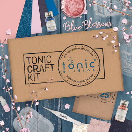 Tonic Craft Kit 25 - Blue Blossom - Inspiration