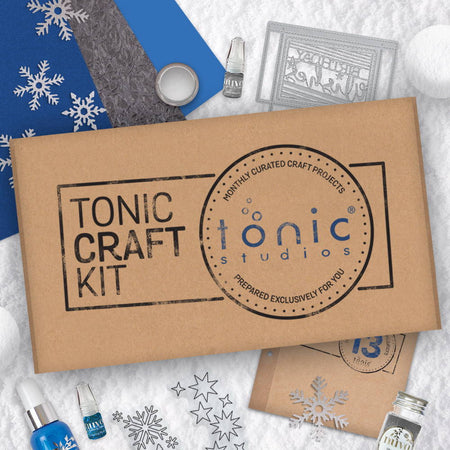 Tonic Craft Kit 13 - Snowflake Gift Card Box