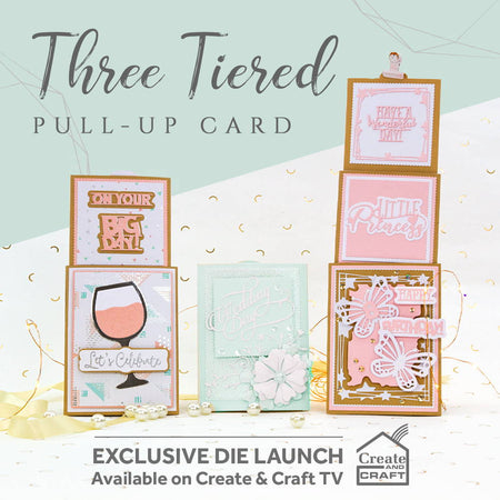 Three Tiered Pull-Up Card Collection - Launch Details