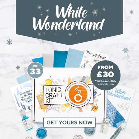 Tonic Craft Kit 33 – White Wonderland - Inspiration