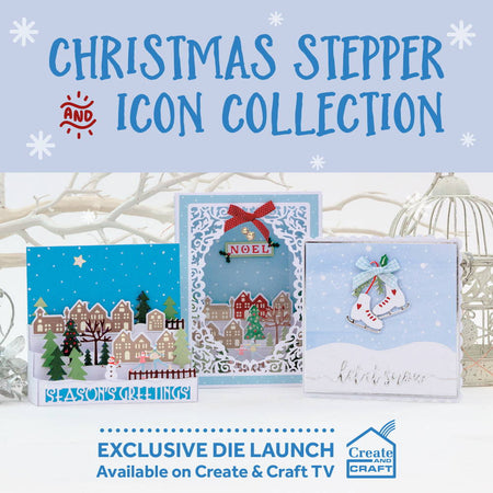Christmas Stepper & Icon Collection - Launch Details