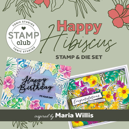 Stamp Club - Happy Hibiscus